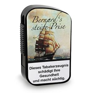 Bernard Steife Snuff Schnupftabak in Kunststoffdose mit 10 Gramm Inhalt
