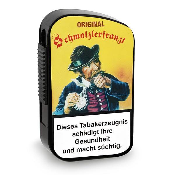 Bernard Schmalzlerfranzl Original Schmalzler Schnupftabak in Kunststoffdose mit 10 Gramm Inhalt